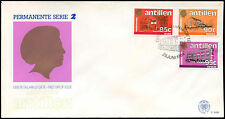 Netherlands Antilles 1984 Local Government Buildings Definitives FDC #C26750