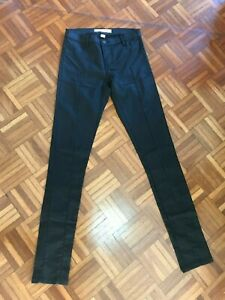 COUNTRY-ROAD-Black-Coated-Denim-Skinny-Leg-Jeans-Size-4-6