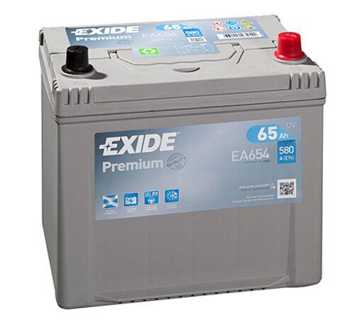 EXIDE Auto Batterie - PREMIUM 65Ah EA654 zzgl. 7,50€ Batteriepfand