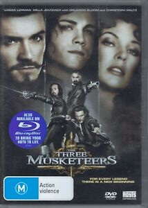 The-Three-Musketeers-DVD-Movie-Orlando-Bloom-FREE-POST