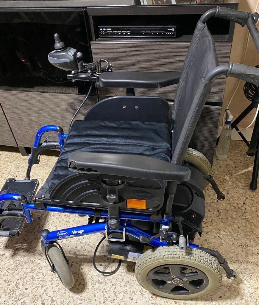 s l1600 - silla de ruedas electrica