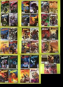 UNCANNY-X-FORCE-1-35-5-1-19-1-X-Men-Deadpool-Remender-Marvel-NM-9-4
