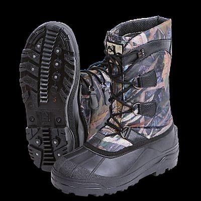 Naziya Fishing Hunting Hiking Winter Waterproof Camouflage Boots Shoes Outwear