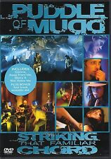 Puddle Of Mudd - Striking That Familiar Chord (DVD) New & Sealed