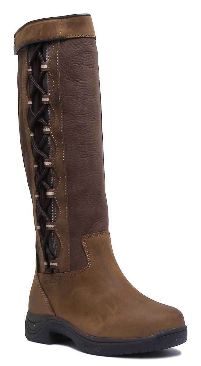 Dublin Pinnacle Unisex Leather Leather Leather Matt Chocolate Brown Riding Boots UK Size 3 - 12 ad535c