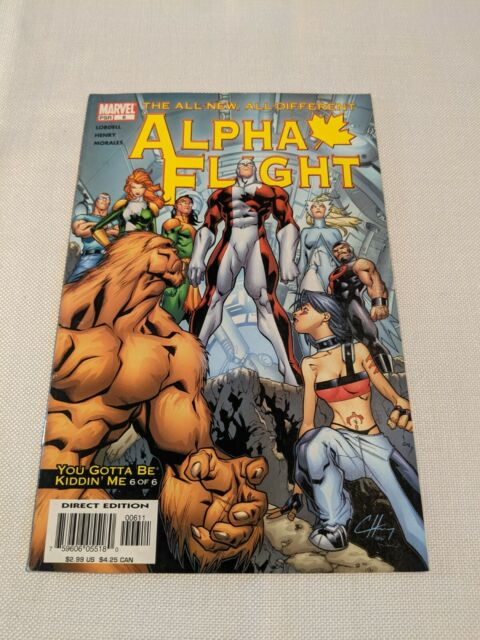 THE ALL NEW ALL DIFFERENT ALPHA FLIGHT #6 MARVEL COMICS 2004