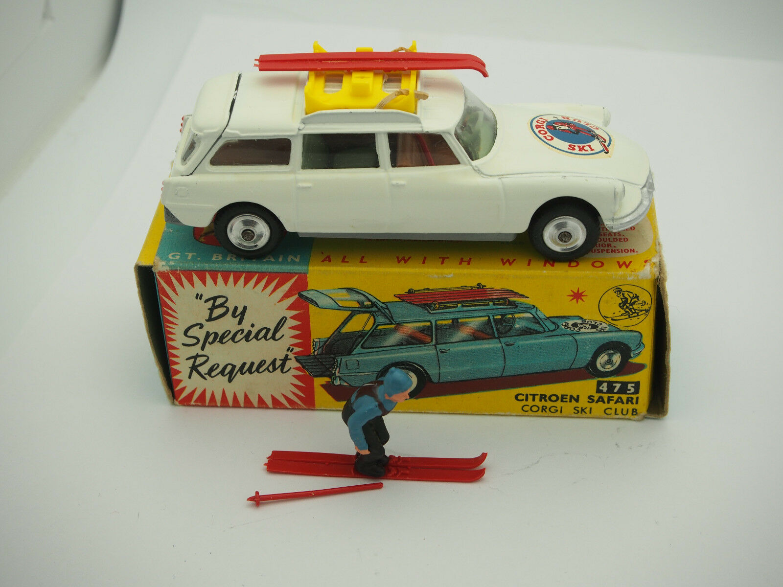 CORGI 475 CITROEN Safari Olympic Winter Sports C W ORIG BOX