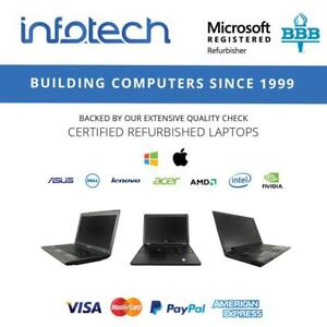 Laptops starting from $239.99 Delivered - www.infotechcomputers.ca Toronto (GTA) Preview