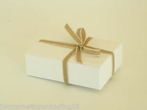Details About Empty Small White Boxes Cheap Jewellery Box Gift Box Handmade Soap Box Code G