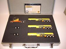 AUSSIE ROAD RIGS KALARI 1/64 ROAD TRAIN KW T600&TRIPLE FUEL TANKERS&DCP TIE