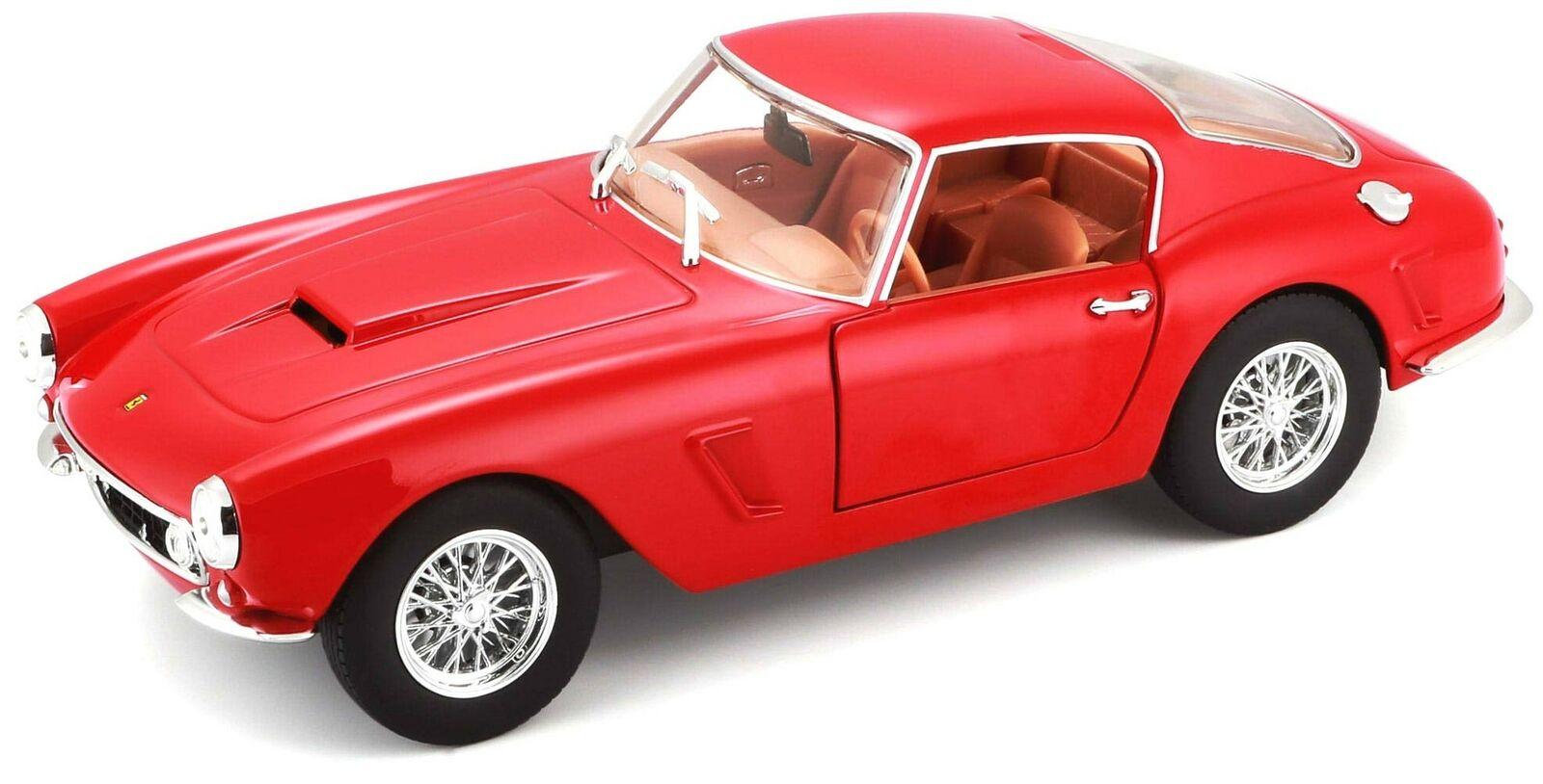 BBURAGO 1  24 FERRARI 250 GT BERLINETTA PASSO CORTO ROSSO