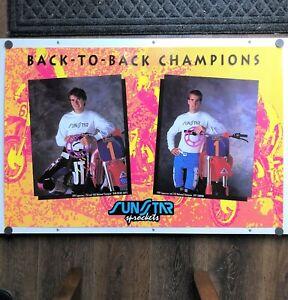 Jean Michel Bayle Poster Jeff Stanton 1992 Honda Supercross Supercross Motocross