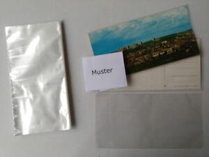 Sammeln & Seltenes Ansichtskartenhüllen 100 Stück Für Panorama Postkarten Dünn 110 X 220x0,04 Mm