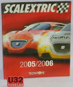 Kinderrennbahnen Scalextric Tecnitoys Katalog Slot Car Jahr 2005/2006 Neu 40 Seiten We Have Won Praise From Customers