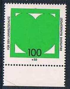 Allemagne-1994-Mi-N-1737-Mnh-Fur-den-Umweltschutz