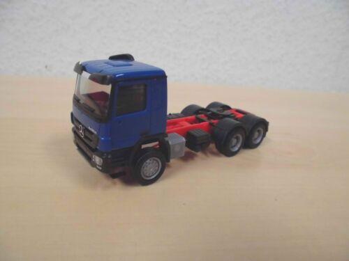 1:87 ms Herpa 158299-003 MB actros /' 08 m 6x6 ruedas que tractor-azul