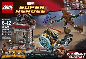 LEGO-Marvel-Guardians-Of-The-Galaxy-Knowhere-Escape-Mission-76020-New