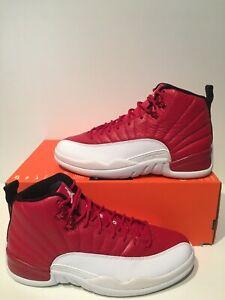 92166b4da666d5 New Air Jordan XII 12 Retro Alternate Gym Red White B Grade Size 8.5 ...