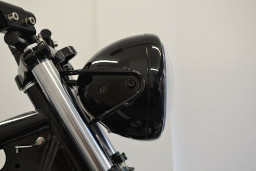"""Motorbike Projector LED Headlight 7.7/"""" with Indicators for Retro Project Bike"""