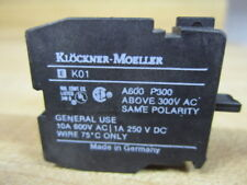 1ö//1s fijación frontal Klöckner-moeller Command kontaktböckchen K c7
