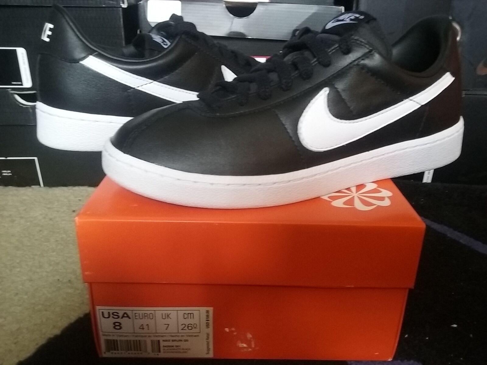 Cheap women's shoes women's shoes Nike Air Bruin SC QS Leather L Premium Black White force vintage dunk 842956 001