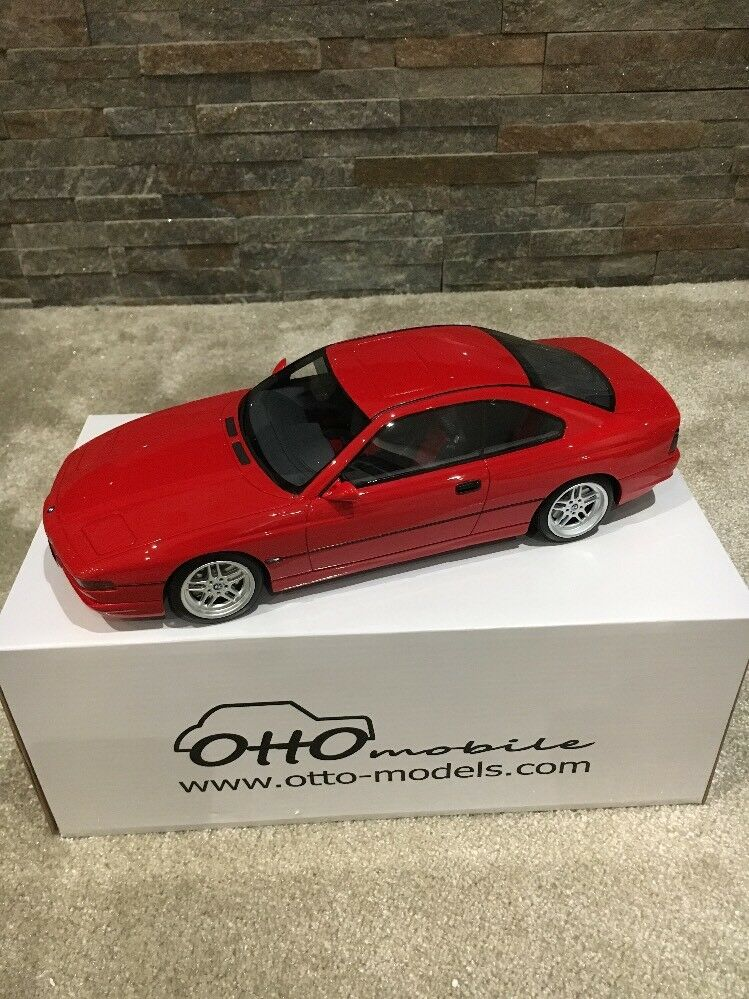 Otto 1 18 BMW 850 CSi Red Brand New