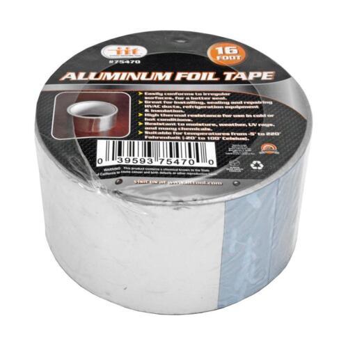 "16 FT x 2/"" Aluminum Foil Heat Shield Tape HVAC Heating A//C Sealing"