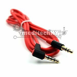 5-pack-3-5mm-Male-to-M-Aux-Cable-Cord-L-Shaped-Car-Audio-Headphone-Jack-Red