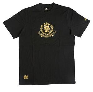adidas-Freizeit-und-Boxing-Shirt-T-Shirt-schwarz-gold-Gr-XS-XXL