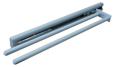Towel Rail Pull Out Extendable 2 Arms