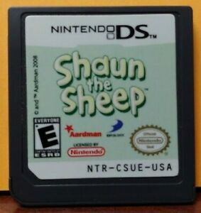 Shaun-The-Sheep-Nintendo-DS-DS-Lite-3DS-2DS-Game-Tested-Works