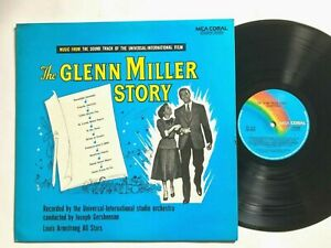 THE-GLENN-MILLER-STORY-Soundtrack-1974-Louis-Armstrong-Orceshtra-NM-NM
