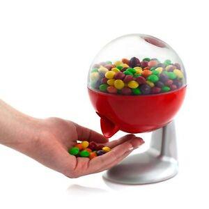 Dispenser noccioline gumballs caramelle arachidi con sensore elettronico H 18 cm