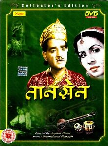 Tansen-K-L-Sehgal-Khursheed-Kesri-Neu-Bollywood-DVD-Englisch-Untertitel