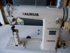 Narrow post bed Taurus 810 ,roller feet industrial sewing  machine, servo