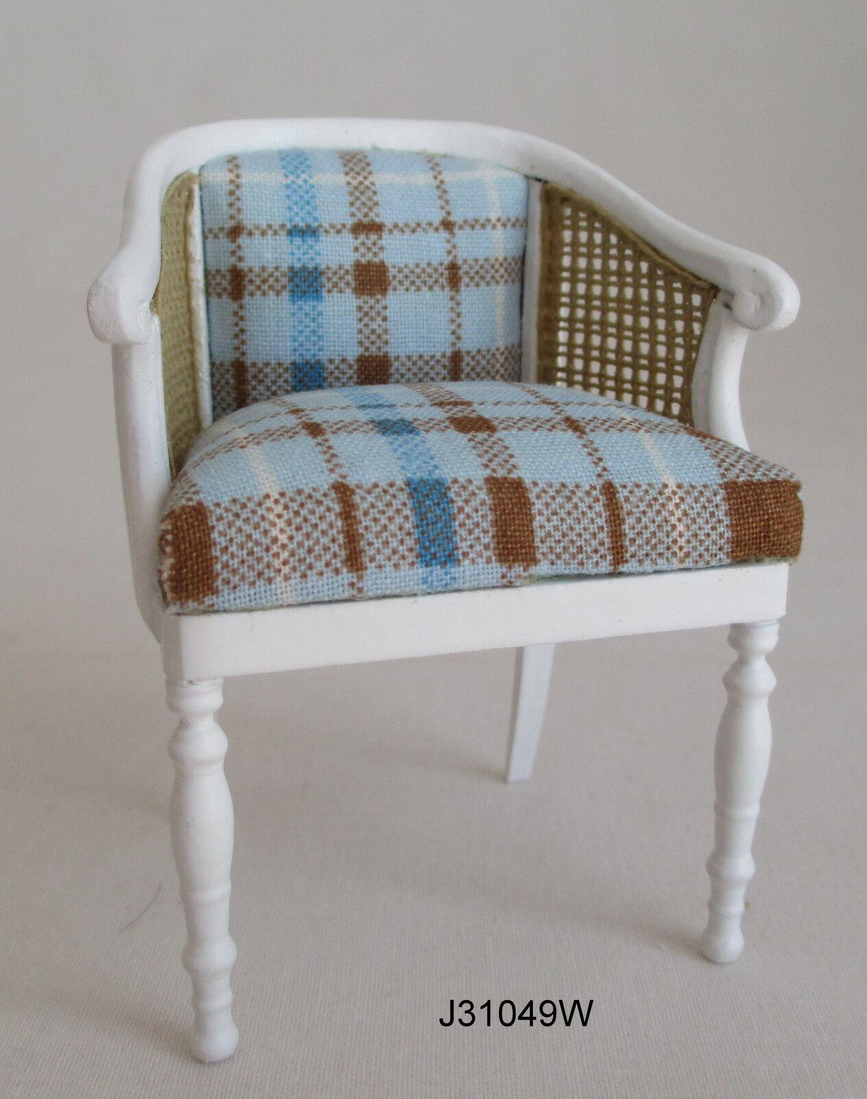 JBM Miniatures J31049W J31049W J31049W Tub Chair with Cane Side Panels - 1:12 Scale 0f2c36