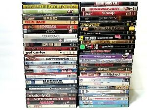 Lot-of-59-Bulk-Used-DVD-Mixed-Wholesale-Movie-DVDs-No-Duplicates
