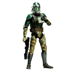 New-SideShow-Militaries-Of-Star-Wars-Commander-Gree-1-6-Plastic-From-Japan