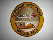 US Navy Patch OPERATION DEEP FREEZE, WILLIAMS FIELD In ANTARCTICA