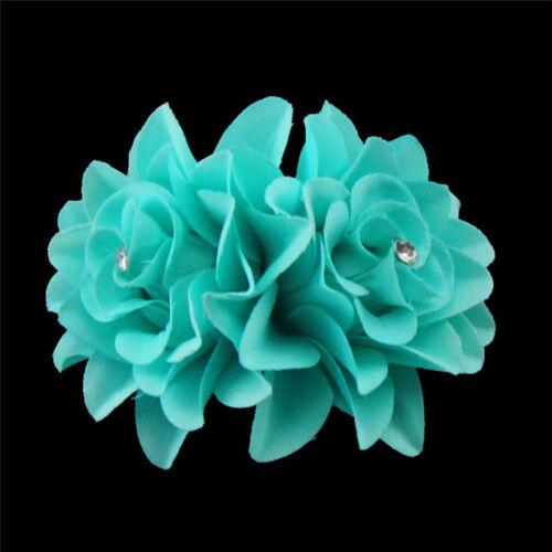 Womens Fashion Flower Hair Clip Hairpin Bridal Wedding Party Hair Accessories TK