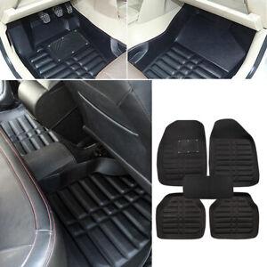 Universal-Car-Floor-Mats-Front-amp-Rear-FloorLiner-All-Weather-Waterproof-Carpet