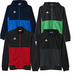 03700e1f2 Adidas Kids Tiro 17 Presentation Jacket Top Climalite New