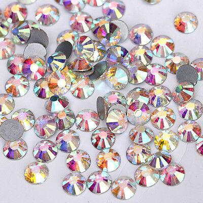 200 Korea 2.4mm Rhinestones Crystal Nail Art 4 Colors