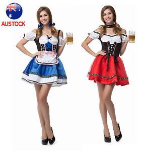 66e8fb48aaa6 Image is loading Oktoberfest-German-Bavarian-Beer-Girl-Costume-Women-039-