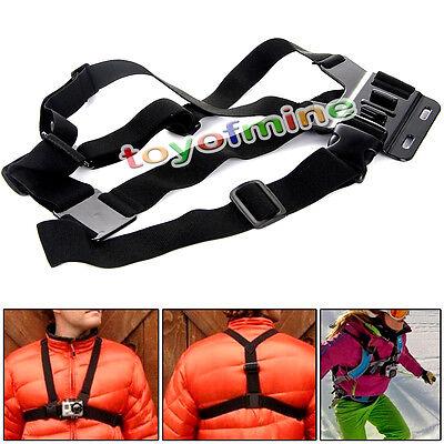 Adjustable Chest Belt Strap Mount For GoPro HD Hero4 3+ 3 2 Camera Holder Strap