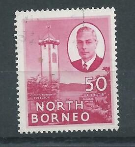 North Borneo  KG VI Definitive 50 cents value Corrected spelling  Fine Used - Oldham, United Kingdom - North Borneo  KG VI Definitive 50 cents value Corrected spelling  Fine Used - Oldham, United Kingdom