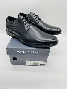 Van Heusen Men's Larry Oxford Dress Shoes Black - Pick Size | eBay