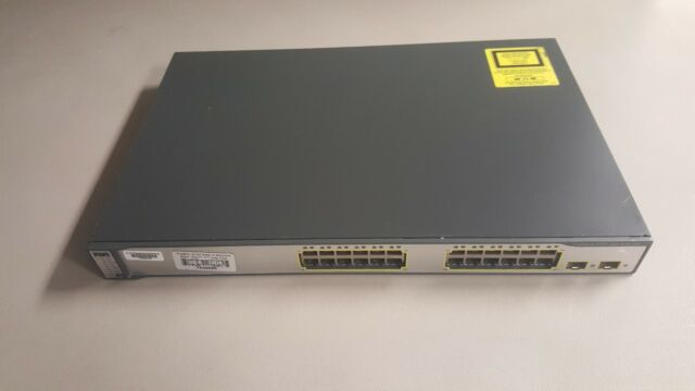 Cisco WS-C3750-24PS-S 24-Port Stackable Gigabit Ethernet Switch PoE