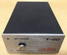 Ortofon T-20 MC Step-Up Transformer, moving coil, phono, made in Denmark
