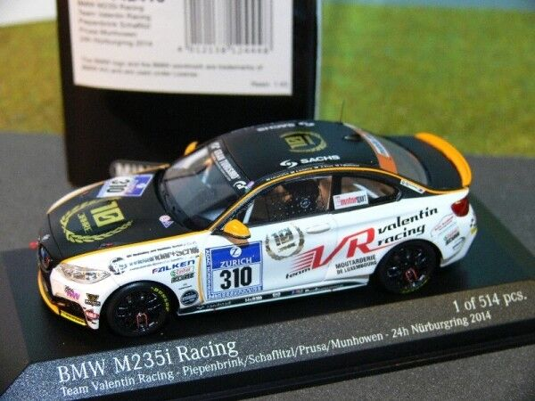 1 43 Minichamps BMW M 235 Racing-Team Valentin 24H Nürburgring
